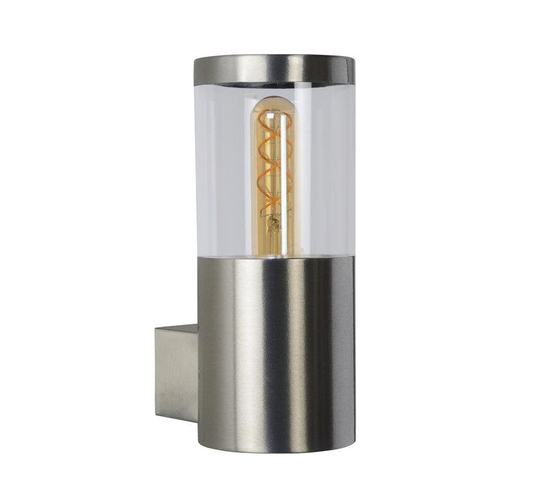 FEDOR Wandlicht E27/40W H23cm Mat Chroom