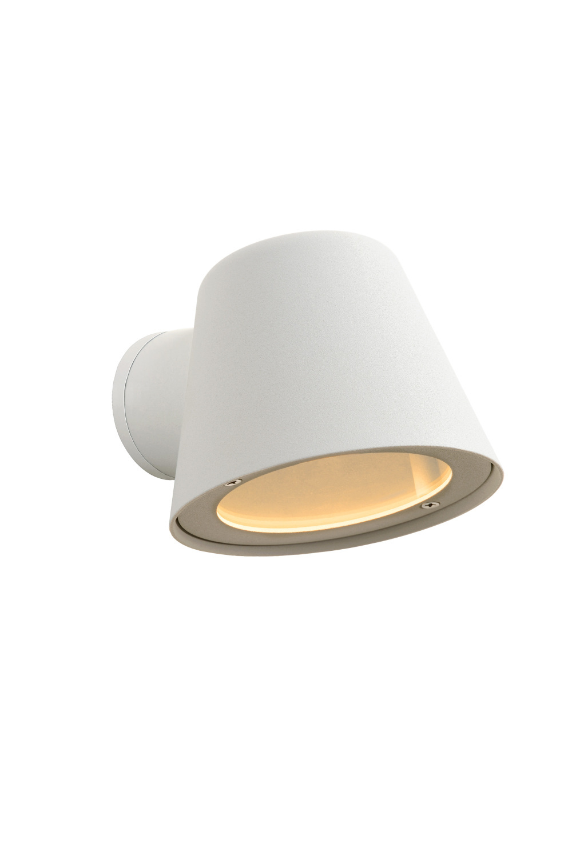 Lucide DINGO Wandlicht LED GU10/4.5W IP44 Wit