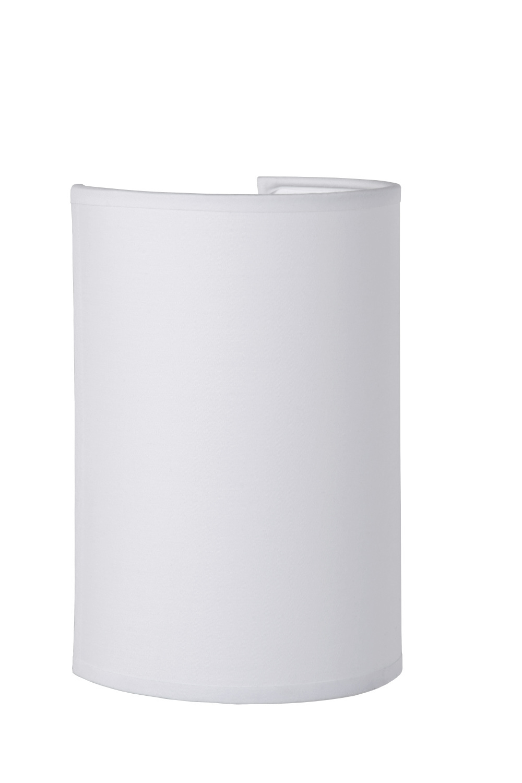 Lucide CORAL Wandlicht E14 Kap Rond H20cm Wit