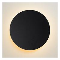 EKLYPS LED  Wandlicht  Ø25cm 8W 480LM 3000K Zwart