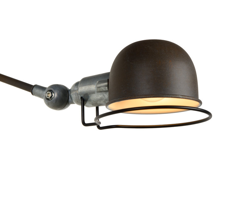 HONORE Wandlicht E14 H11.5 W max 70cm Roest Bruin