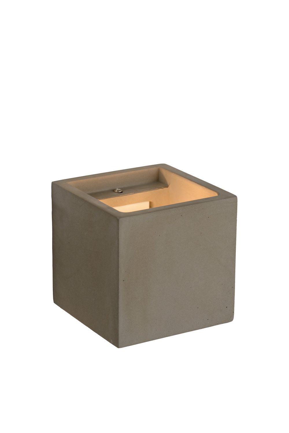 Lucide GIPSY Wandlicht G9 11.5x11.5x11.5cm Taupe