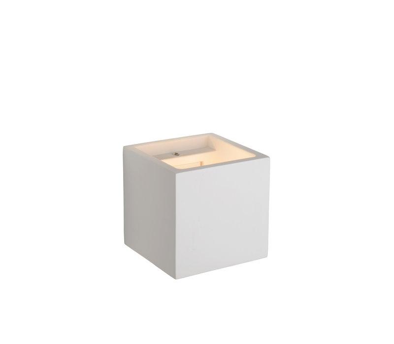 GIPSY Wandlicht G9 11.5x11.5x11.5cm Wit