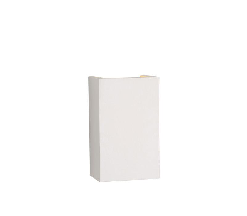 GIPSY Wandlicht Vierkant G9 18/11/7cm Wit