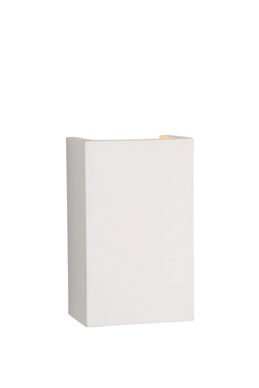 Lucide GIPSY Wandlicht Vierkant G9 18/11/7cm Wit