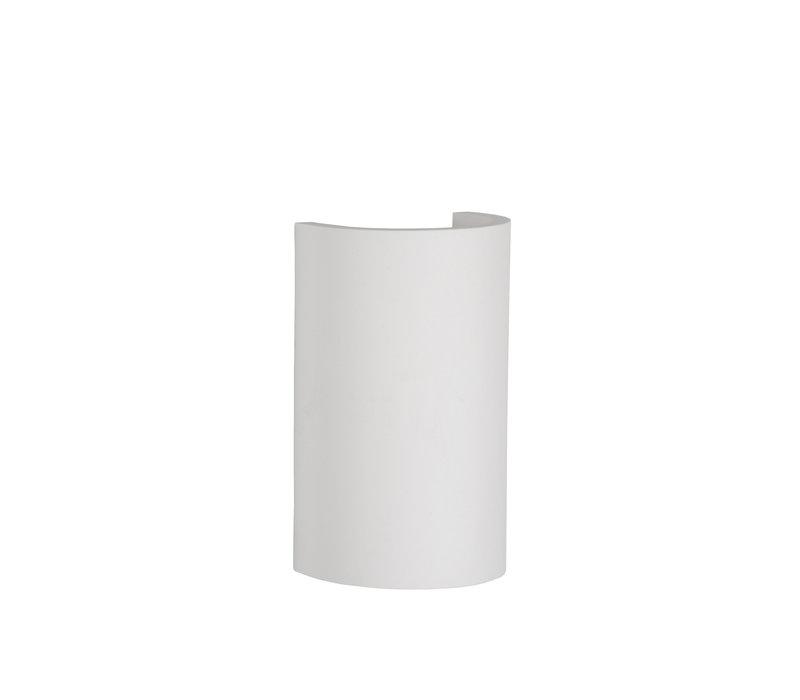 GIPSY Wandlicht Rond G9 18/11/7cm Wit