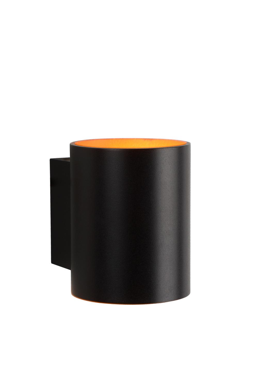 Lucide XERA Wandlicht Rond 1xG9 D8 H10 W10cm Goud/Zwart