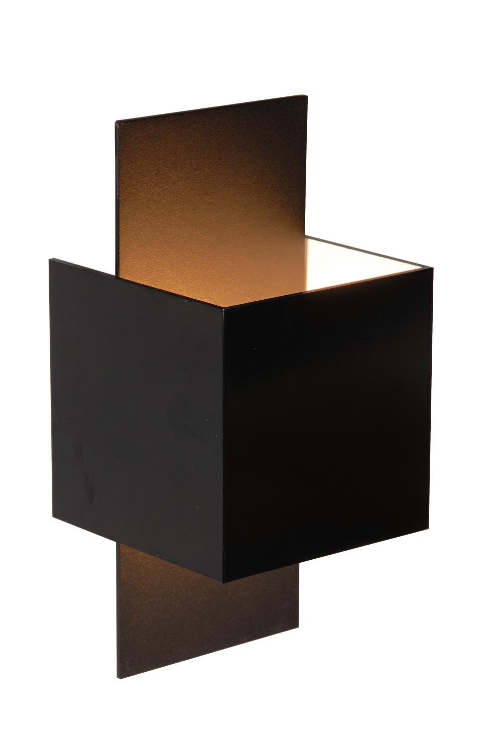 Lucide CUBO Wandlicht 1xG9 max 40W Zwart