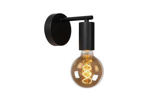 Lucide LEANNE Wandlamp E27/60W Zwart