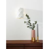 OTONA Wandlicht 2xE14/40W L15 H20cm Zwart
