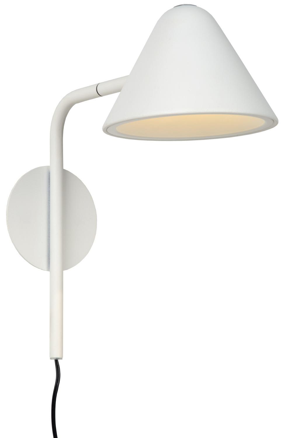 Lucide DEVON Wandlamp LED 3W 3000K Wit