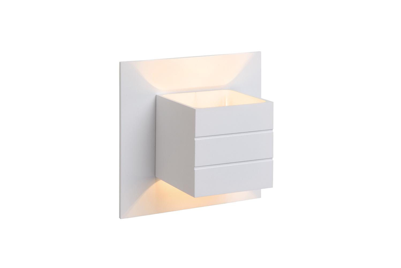 Lucide wandlicht Bok 1 lamp wit