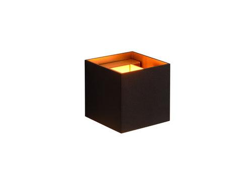 Lucide XIO Wandlicht Vierkant G9/4W 380LM 2700K Zwart