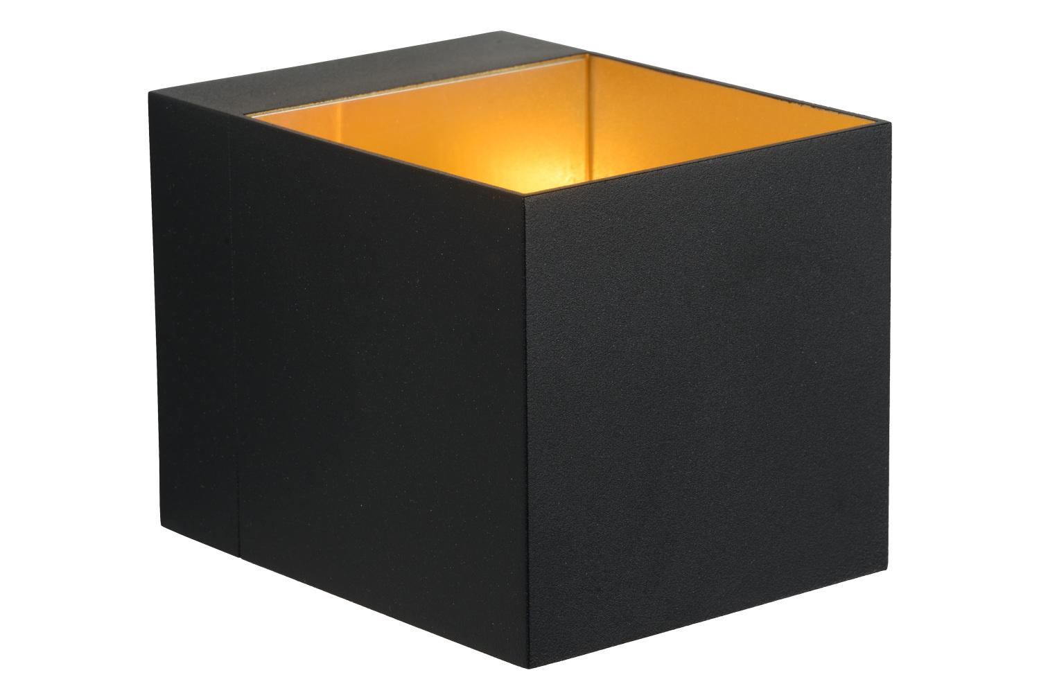 Lucide DEVI Wandlicht G9excl L8 B8 H10,5cm Zwart/goud
