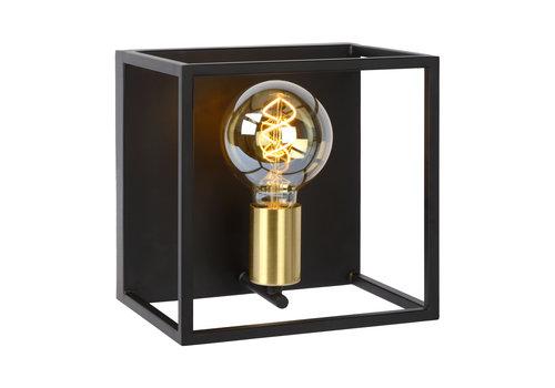 Lucide RUBEN Wandlicht  1x E27 40W Zwart / mat goud