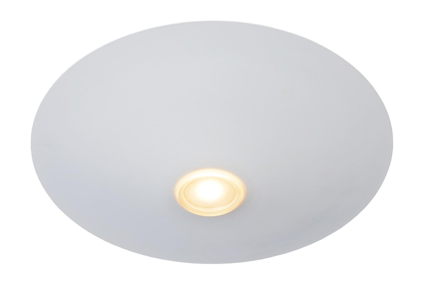 Lucide TROY Plafonnier LED Ø35cm Wit