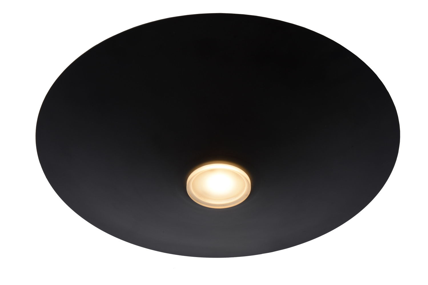 Lucide TROY Plafonnier LED Ø35cm Zwart