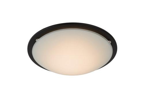 Lucide RUNE Plafondlicht AC LED 8W Ø27cm Zwart