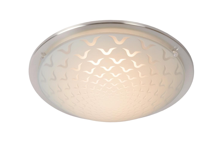 Lucide RUNE Plafondlicht AC LED 8W Ø27cm Mat Chroom