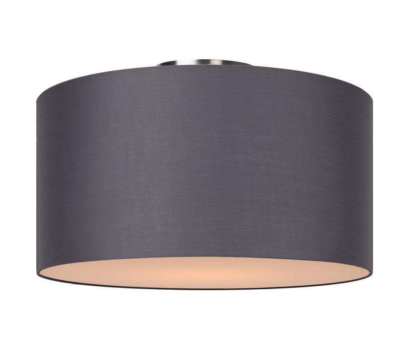 CORAL Plafondlicht E27 D45 H25cm Grijs
