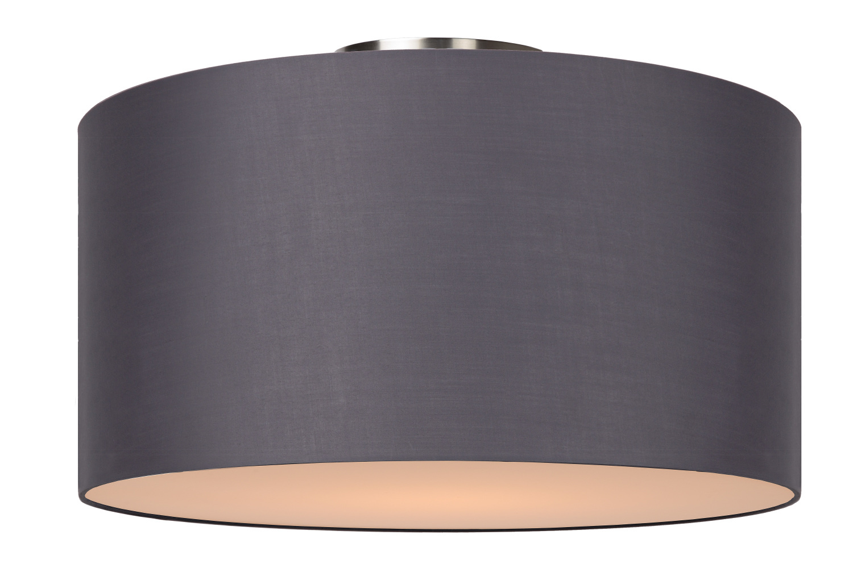 Lucide CORAL Plafondlicht E27 D45 H25cm Grijs