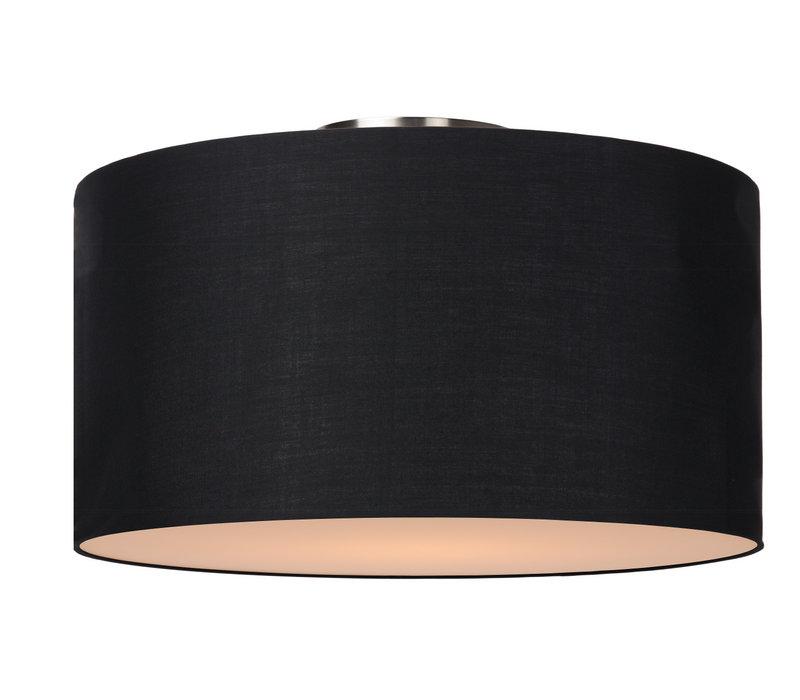 CORAL Plafondlicht E27 D45 H25cm Zwart