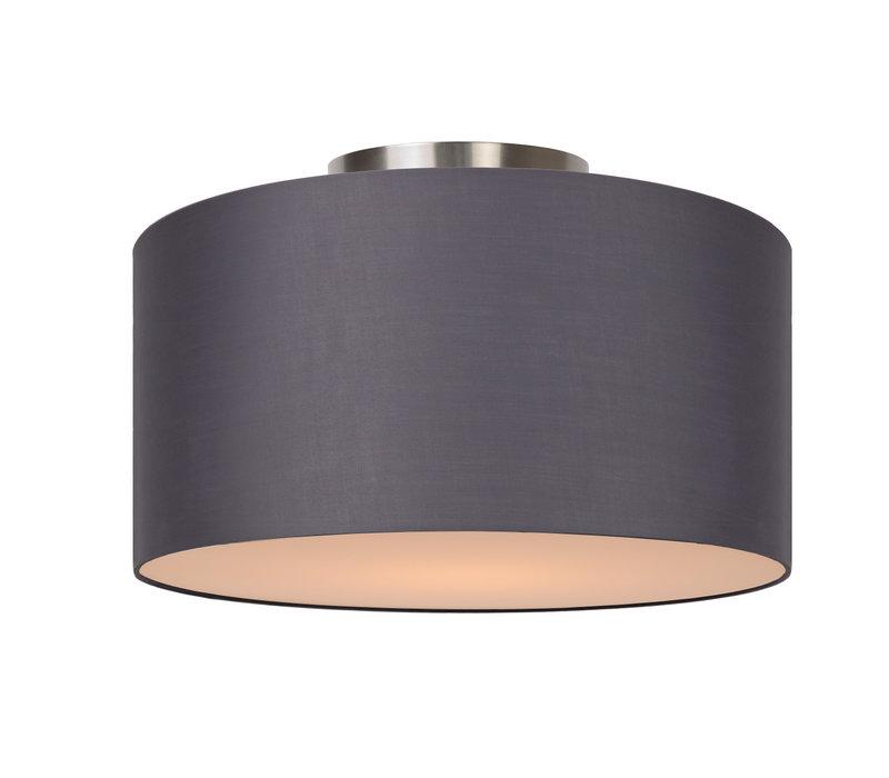 CORAL Plafondlicht E27 D35 H20cm Grijs