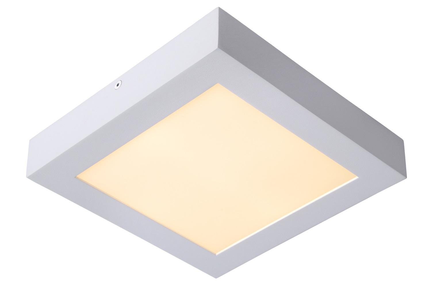 Lucide BRICE-LED Plafonnier Dimbaar 22W Vierkant IP40