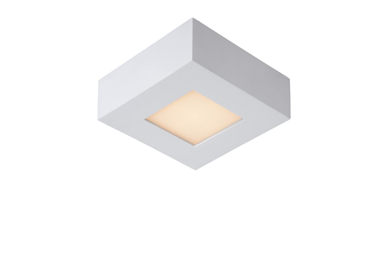 Lucide BRICE-LED Plafonnier Dimbaar 8W Vierkant IP40