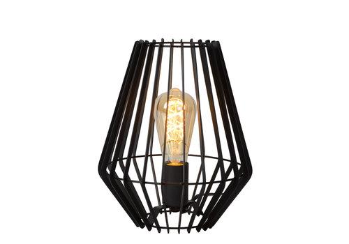 Lucide REDA Tafellamp E27/40W H27cm Zwart
