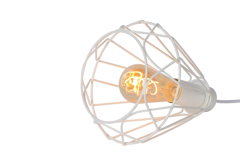 Lucide KYARA tafellamp E27 Ø20cm Wit