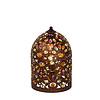 Lucide BYRSA Tafellamp  E14 H 30cm Roestbruin