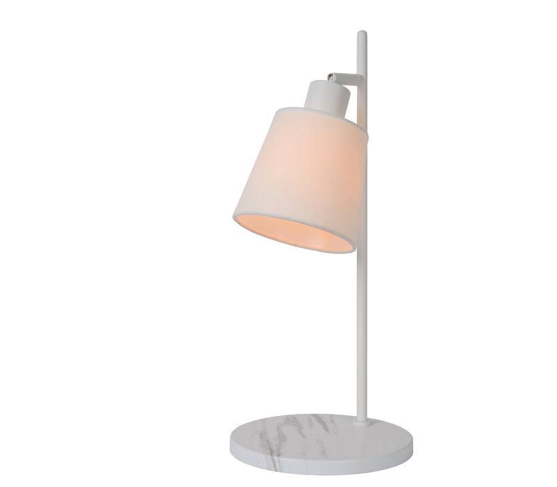 PIPPA Tafellamp E27/50W Wit