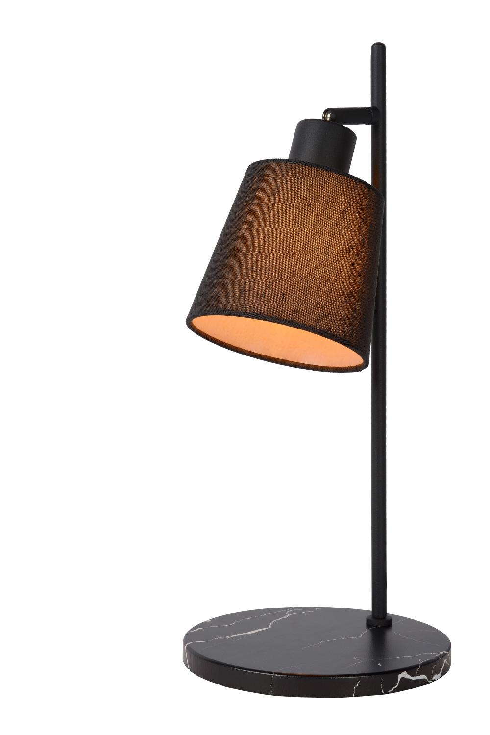 Lucide PIPPA Tafellamp-Zwart-1xE27-25W-Metaal