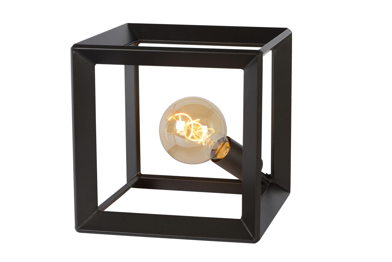 Lucide THOR Tafellamp-Grijs .-1xE27-60W-Metaal