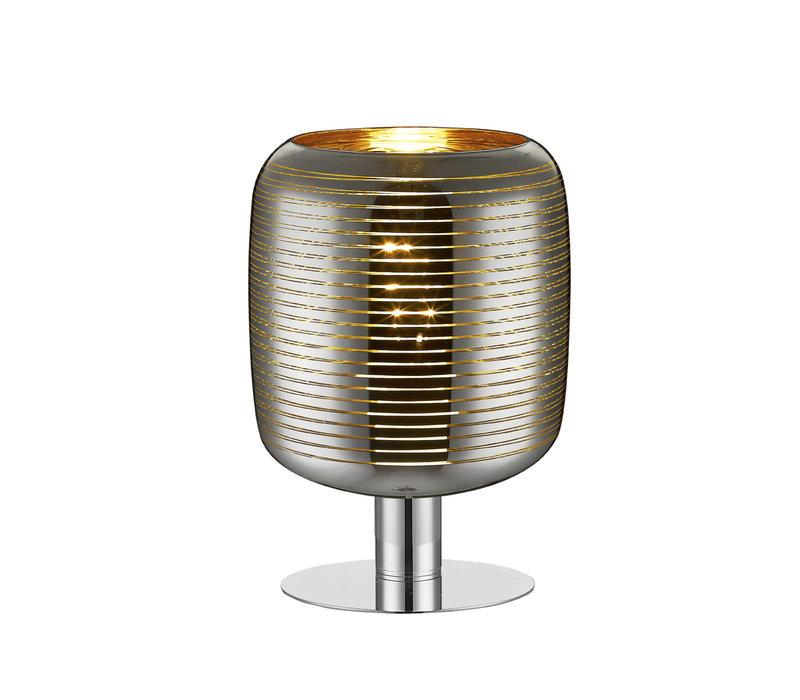 ERYN Tafellamp E27 60W Chroom/Goud