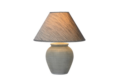 Lucide RAMZI Tafellamp E27 H42cm Grijs