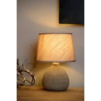 RAMZI Tafellamp E14 H26cm Bruin