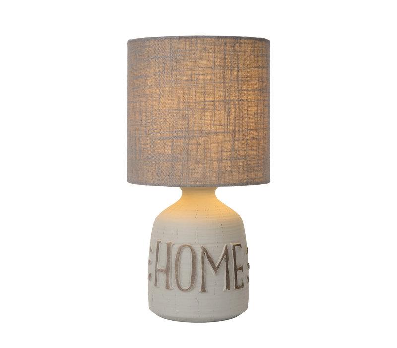 COSBY Tafellamp E14 H32.5cm Grijs