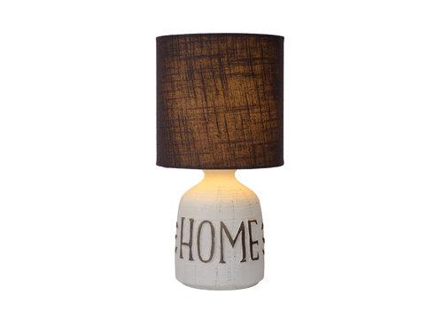 Lucide COSBY Tafellamp E14 H32.5cm Wit