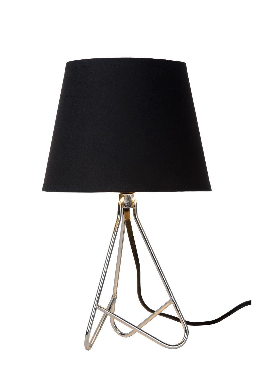 Lucide GITTA Tafellamp E14 H30cm Chroom