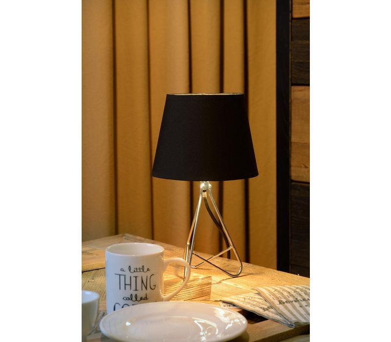 GITTA Tafellamp E14 H30cm Chroom