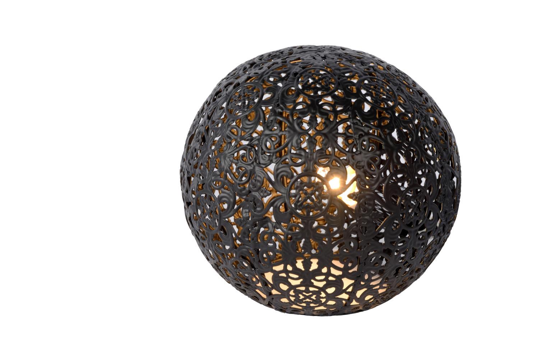 Lucide PAOLO Tafellamp-Zwart-Ø14,5-1xG9-28W-Metaal