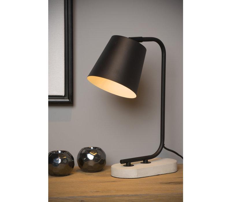 CONA Tafellamp E27/40W H40cm Zwart