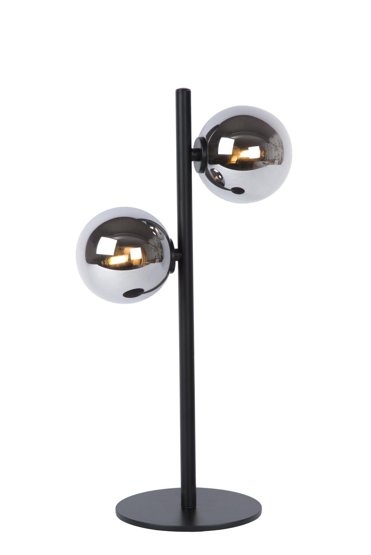 Lucide TYCHO Tafellamp-Zwart-2xG9-28W-Staal