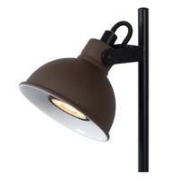DAMIAN Bureaulamp GU10/35W H38cm Roest Zwart