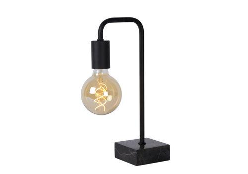 Lucide LORIN Tafellamp E27 10/19.3/35cm Zwart