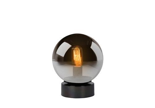 Lucide JORIT Tafellamp E27 Ø20 H24.5cm Fumé