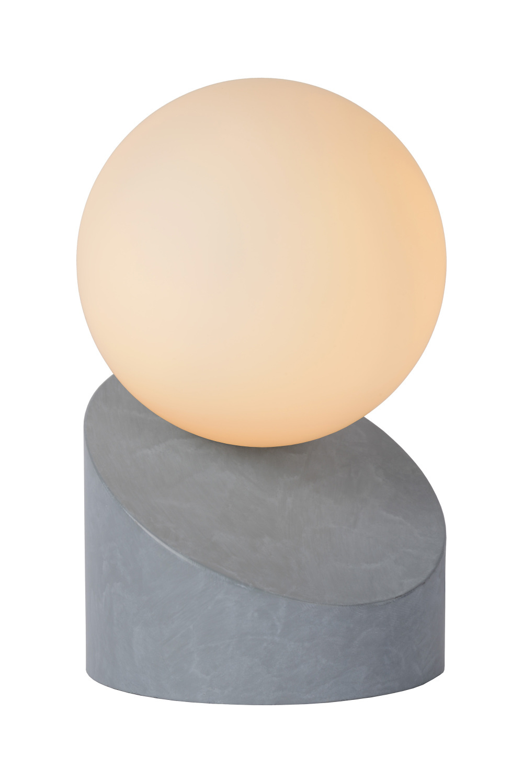 Lucide LEN Tafellamp G9excl Ø10 H16cm Grijs