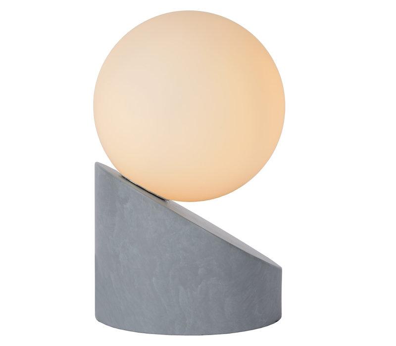 LEN Tafellamp G9excl Ø10 H16cm Grijs